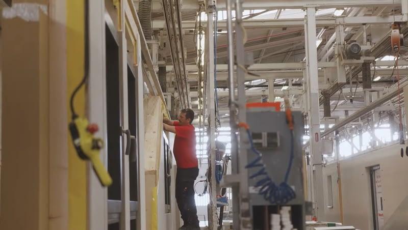 Produktion bei WeberHaus