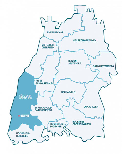 KEFF-Karte Baden-Württemberg