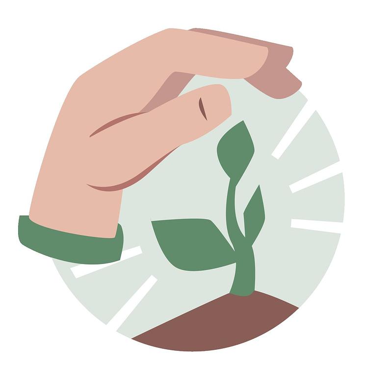 Icon für Umwelt- und Klimaschutz