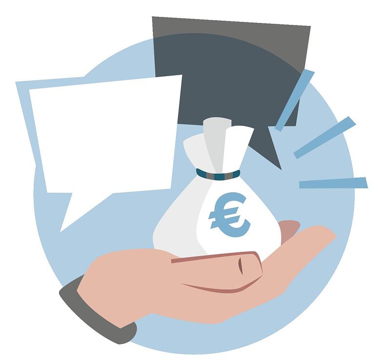 Icon für Fördermittel und Kontakte