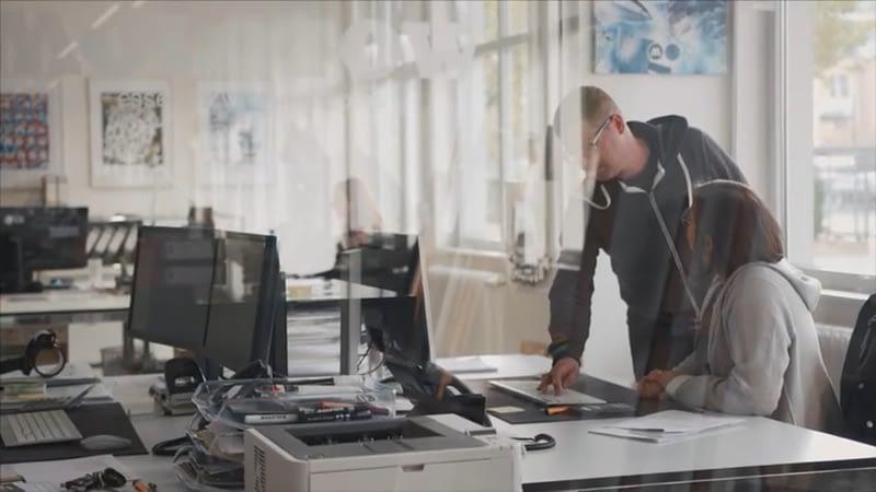 Büros haben viele Energieverbraucher beispielsweise PCs.